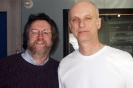 David Bray with Kim Mitchell