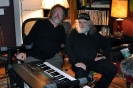 David Bray with Garth Hudson of  The Band